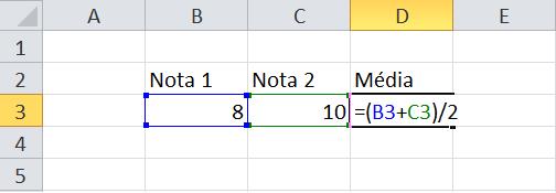calculo da media 1