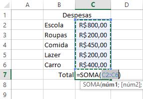 como calcular porcentagem no excel 1