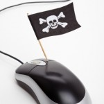 Pirate Flag and Computer Mouse